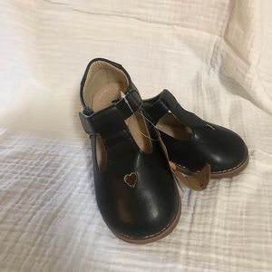 Other - T-Strap, Velcro, Black Shoes, Size 9